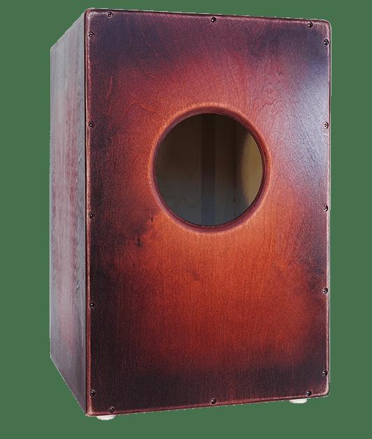 Flame Wild Cajon – Burning red burst