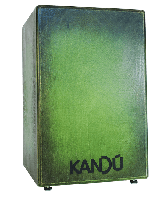 cajon-flame-wild-green-burst