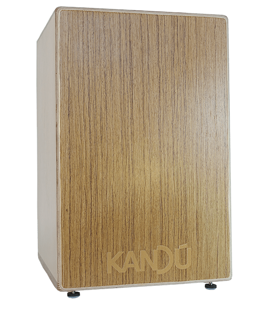 Jungle Vibe Flame Cajon – K9 – Teak tan