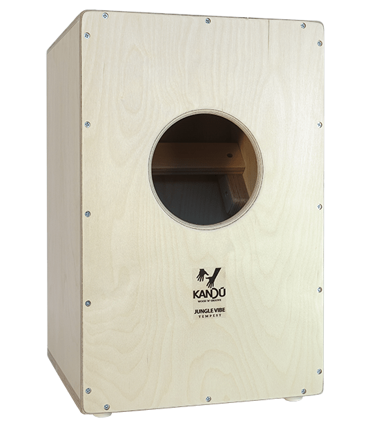 Tempest Jungle Vibe Cajon – k6 – Ebony black