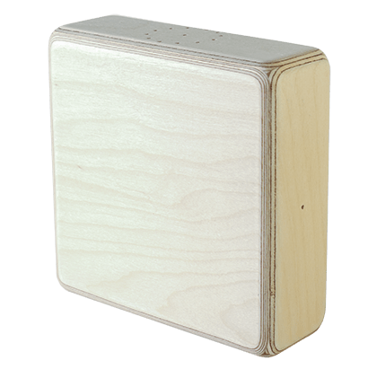 Clever shaker – עץ טבעי – לוגו שחור
